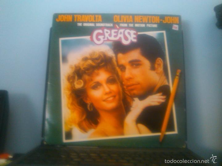 BSO GREASE (2LPS) REEDICION 1991 (Música - Discos - LP Vinilo - Bandas Sonoras y Música de Actores )