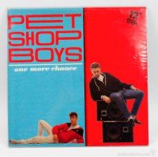 Discos de vinilo: PET SHOP BOYS, ONE MORE CHANCE, 1984 ARS RECORDS. MUY RARO. Lote 57323038
