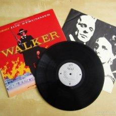 Discos de vinilo: ORIGINAL MOTION SOUNDTRACK - WALKER BY JOE STRUMMER - VINILO ORIGINAL 1987 VIRGIN MOVIE MUSIC USA. Lote 57323247