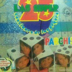 Discos de vinilo: LP DOBLE LOS 25 SUPER CANCIONES DE LOS PEQUES PARCHIS. Lote 57327019