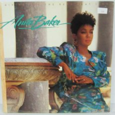 Discos de vinilo: ANITA BAKER - GIVING YOU THE BEST THAT I GOT - LP - ELEKTRA 1988 SPAIN - NUEVO PRECINTADO. Lote 57329740