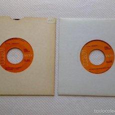Discos de vinilo: 2 SINGLES DE ELVIS PRESLEY: DON'T CRY DADDY / RUBBERNECKIN' - KENTUCKY RAIN / MY LITTLE FRIEND. Lote 57329865