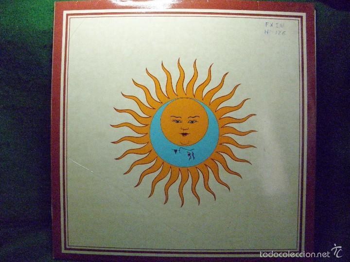 KING CRIMSON - LARKS' TONGUES IN ASPIC - 1980 SPAIN (Música - Discos - LP Vinilo - Pop - Rock - Extranjero de los 70)