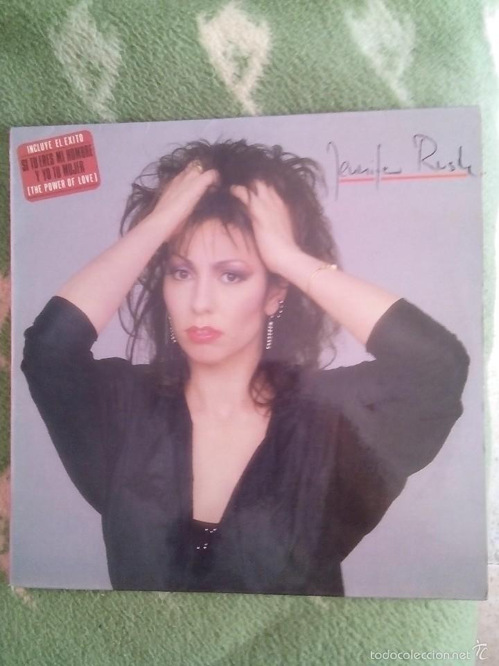 JENNIFER RUSH - JENNIFER RUSH LP (Música - Discos - LP Vinilo - Pop - Rock - New Wave Extranjero de los 80)