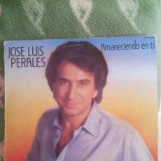 Discos de vinilo: JOSE LUIS PERALES - AMANECIENDO EN TI LP. Lote 57330856