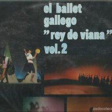 Discos de vinilo: EL BALLET GALLEGO REY DE VIANA VOL 2 LP SELLO MOVIE PLAY AÑO 1970. Lote 57332523
