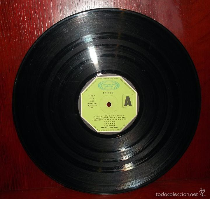 Discos de vinilo: Triana 1er LP Sin portada (S-32.678) Muy usado. - Foto 2 - 57334522