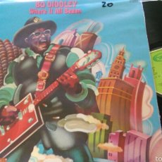 Discos de vinilo: BO DIDDLEY LP WHERE IT ALL BEGAN.ESPAÑA 1973. Lote 57336333
