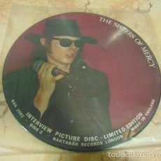 Discos de vinilo: THE SISTERS OF MERCY – LIMITED EDITION INTERVIEW PICTURE DISC - 1988. Lote 57336530