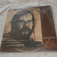 Discos de vinilo: MICHEL HUYGEN (NEURONIUM) LP ABSENCE OF REALITY (1982) -CON SANTI PICO GUITARRAS ELECTRICAS- RARO-. Lote 57337590