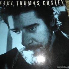 Discos de vinilo: EARL THOMAS CONLEY - THE HEART OF IT ALL LP - ORIGINAL ALEMAN - RCA RECORDS 1988 MUY NUEVO (5). Lote 57338730