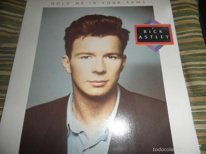 Discos de vinilo: RICK ASTLEY - HOLD ME IN YOUR ARMS LP - ORIGINAL AUSTRALIANO - RCA 1988 GATEFOLD MUY NUEVO(5) - Foto 25 - 57339064