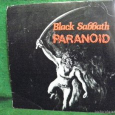 Discos de vinilo: BLACK SABBATH - PARANOID - SINGLE 1970. Lote 57341229