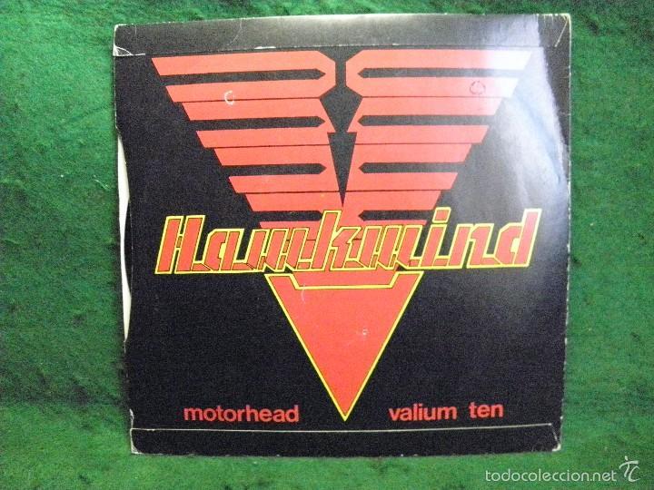 Discos de vinilo: HAWKWIND - MOTORHEAD - VALIUM TEN - SINGLE 1981 - Foto 2 - 57341363
