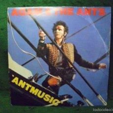 Discos de vinilo: ADAM & THE ANTS - ANTMUSIC - SINGLE 1980 UK. Lote 57341975