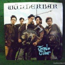 Discos de vinilo: TEMPOLE TUDOR - WUNDERBAR - SINGLE 1980 UK. Lote 57342046