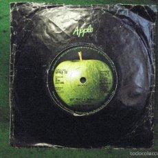 Discos de vinilo: PASTIC ONO BAND - GIVE PEACE A CHANCE - SINGLE 1969 UK. Lote 57342458