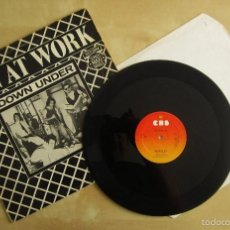 Discos de vinilo: MEN AT WORK - DOWN UNDER - MAXI VINILO ORIGINAL 1981 EDICION CBS AUSTRALIA. Lote 57342749