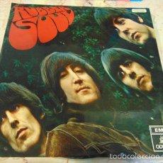 Discos de vinilo: THE BEATLES - RUBBER SOUL - LP ODEON 1 J 062-04.115,– PCSL 5300. Lote 57343343