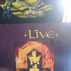 Discos de vinilo: LIVE / MENTAL JEWERLY / RADIOACTIVE 1991. Lote 57346757