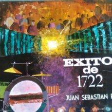 Dischi in vinile: CONJUNTO BARROCO DE JAZZ - EXITOS DE 1722 DE JUAN SEBASTIAN BACH (POLYDOR, 1964) - MUY ESCASO. Lote 57348309