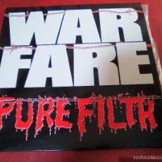 Discos de vinilo: WARFARE PURE FILTH (VENOM, MOTORHEAD). Lote 57351607