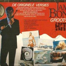 Discos de vinilo: LP JAMES BOND HITS (CANCIONES DE PAUL MCCARTNEY, LOUIS ARMSTRONG, TOM JONES, SHIRLEY BASSEY, LULU . Lote 57352308