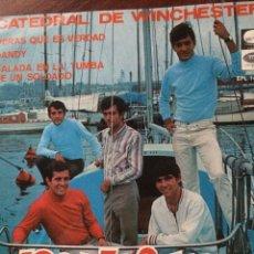 Discos de vinilo: LOS MUSTANG-CATEDRAL DE WINCHESTER+3-EP-NUEVO!!. Lote 57356420