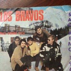 Discos de vinilo: LOS BRAVOS-UNO COME NOI-FESTIVAL SAN REMO 1967-VINILO SIN USAR. Lote 57356691