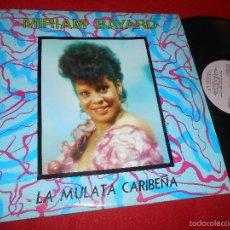 Discos de vinilo: MIRIAM BAYARD LA MULATA CARIBEÑA LP 1988 EGREM/SIBONEY CUBA EDICION CUBANA LATIN. Lote 57357309