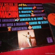 Discos de vinilo: ANTONIO MACHIN LO MEJOR DE LP 1967 DISCOPHON EDICION ESPAÑOLA SPAIN. Lote 57357417