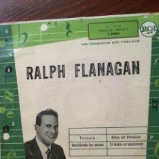 Discos de vinilo: RALPH FLANAGAN Y SU ORQUESTA-TERNURA+3-RARO. Lote 57357774
