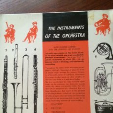 Discos de vinilo: JOSEPH COOPER AND THE SINFONIA OF LONDON-THE INSTRUMENTS OF THE ORCHESTRA-RARO-NUEVO. Lote 57358366