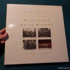 Discos de vinilo: CENTENARI DE LA COBLA PRINCIPAL DE LA BISBAL 1888-1988 - CAJA CON 4 LP'S + LIBRETO -EDICIÓN NUMERADA. Lote 57360172
