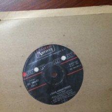 Discos de vinilo: LOUIS ARMSTRONG-PARIS BLUES-EP-PORTADA RADIO-SIN USO. Lote 57361053