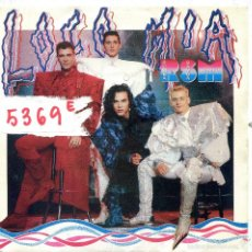 Disques de vinyle: LOCO MIA / RSM (RUMBA LAMBA MAMBO) SINGLE PROMO 1990. Lote 57365245