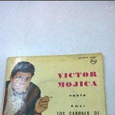 Discos de vinilo: VICTOR MOJICA - YASSU + 3 -EP- PHILIPS -433 803 PE -N.. Lote 57366787