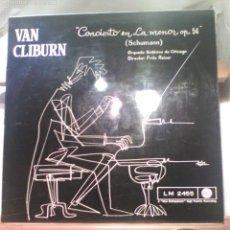 Discos de vinilo: DISCO DE VINILO VAN CLIBURN / SCHUMANN - SINFONÍA EN LA MENOR, OP 54 (ESPAÑA, 1962). Lote 57373076