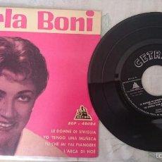 Dischi in vinile: CARLA BONI: LE DONNE DI SIVIGLIA+3(CETRA 1962). Lote 57378458