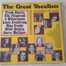 Discos de vinilo: THE GREAT VOCALISTS - HISTORY OF JAZZ - 2 LP - 1975. Lote 57380539
