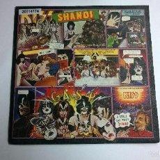 Discos de vinilo: KISS.SHANDI.SINGLE.ESPAÑA 1980.SELLO CASABLANCA.FONOGRAM.. Lote 57380775