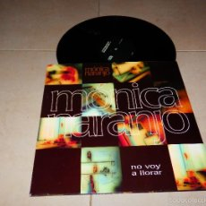 Dischi in vinile: MONICA NARANJO NO VOY A LLORAR SONY 2001 EP DISCO DANCE HOUSE TECHNO V4D. Lote 57382956