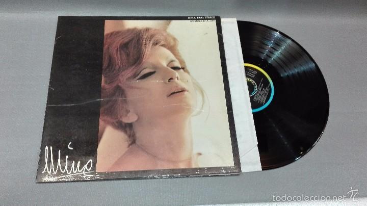 918- MINA DUE -DISCO VINILO LP - PORTADA VG +/ DISCO VG + (Música - Discos - LP Vinilo - Otros estilos)