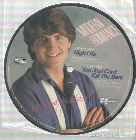 MODERN ROMANCE SINGLE PUCTURE DISC EDITADO EN INGLATERRA (Música - Discos - Singles Vinilo - Otros estilos)