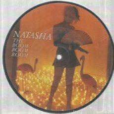 Discos de vinilo: NATASHA SINGLE PUCTURE DISC AÑO 1982. Lote 57383150