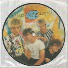 Discos de vinilo: CAVA CAVA SINGLE PICTURE DISC EDITADO EN INGLATERRA. Lote 57383202