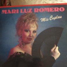 Discos de vinilo: MARI LUZ ROMERO-MIS COPLAS-CON HOJA PROMOCIONAL-NUEVO!!. Lote 57383849