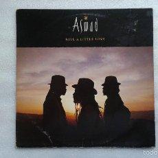 Discos de vinilo: ASWAD - GIVE A LITTLE LOVE MAXI SINGLE 1988 EDICION ESPAÑOLA. Lote 57387309