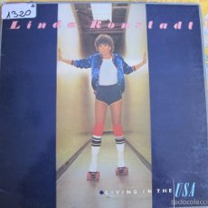 Disques de vinyle: LP - LINDA RONSTADT - LIVING IN THE USA (SPAIN, ASYLUM RECORDS 1978, PORTADA DOBLE). Lote 57387563