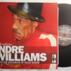 Discos de vinilo: ANDRE WILLIAMS WITH THE DIPLOMATS OF SOLID SOUND – '' APHRODISIAC '' LP SPAIN. Lote 57387717